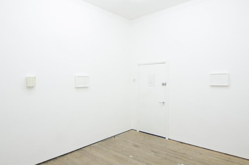 Installation view of Samuel Jeffery