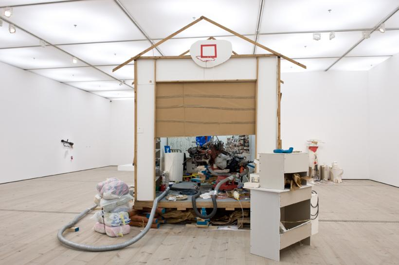 Jason Rhoades, Garage Renovation New York (CHERRY Makita), installation view at BALTIC, 2015