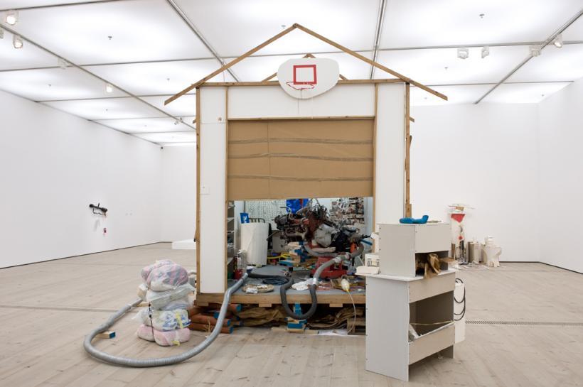 Jason Rhoades, Garage Renovation New York (CHERRY Makita), installation view at BALTIC, 2015