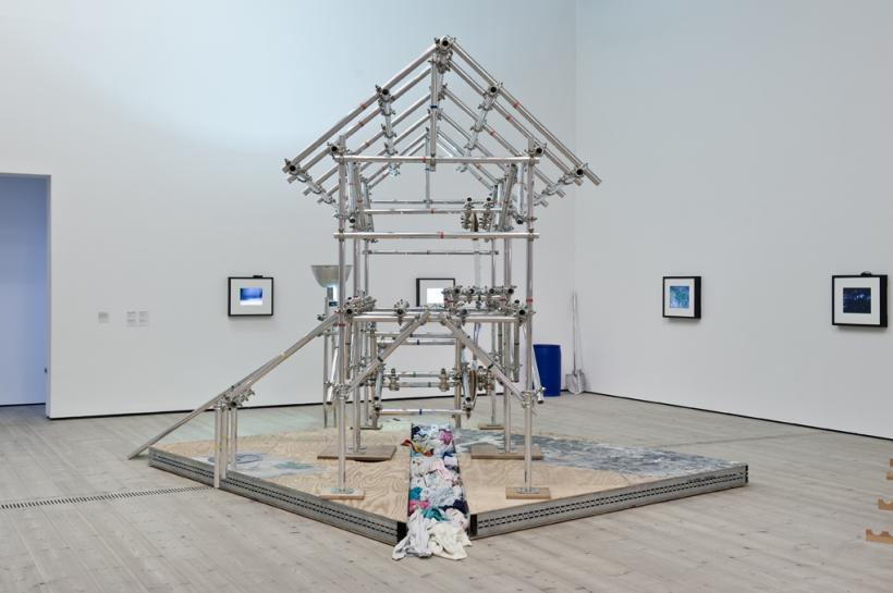 Jason Rhoades, Sutters Mill,installation view at BALTIC, 2015