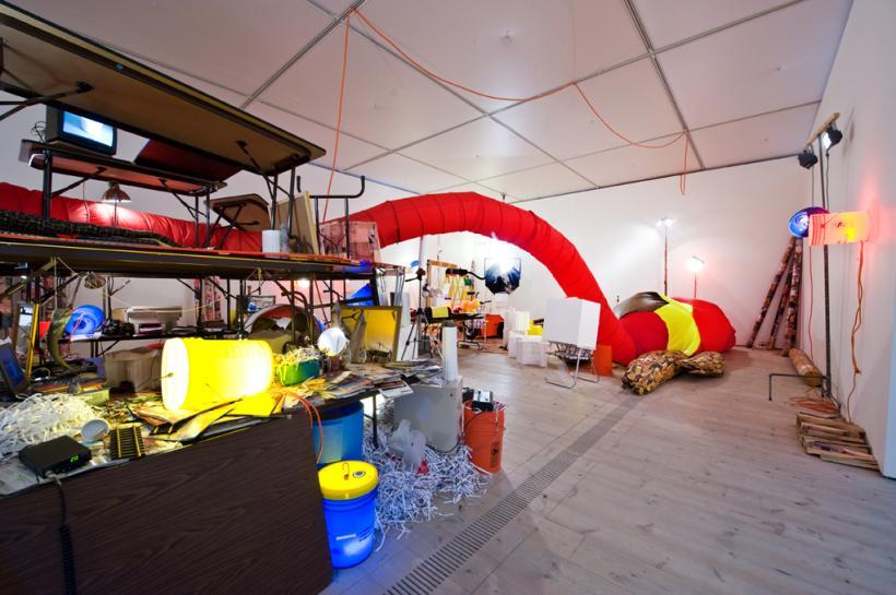 Jason Rhoades, The Creation Myth, installation view at BALTIC, 2015