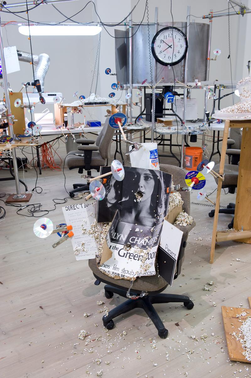 Jason Rhoades, The Grand Machine (detail), installation view at BALTIC, 2015