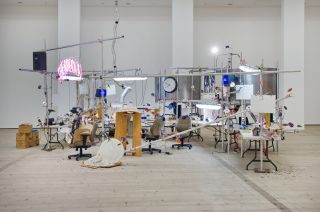 Jason Rhoades, The Grand Machine, installation view at BALTIC, 2015