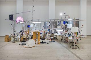Jason Rhoades, The Grand Machine, installation view at BALTIC, 2015