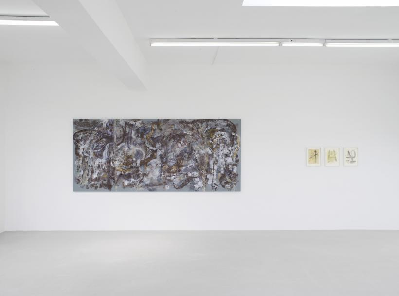 Installation view, Michaela Eichwald, Rachel Harrison