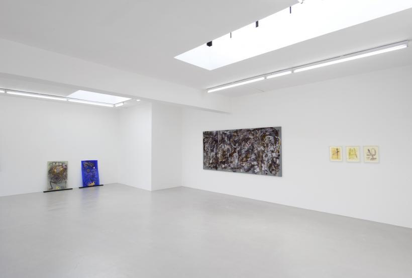 Installation view, Kerstin Bratsch, Michaela Eichwald, Rachel Harrison