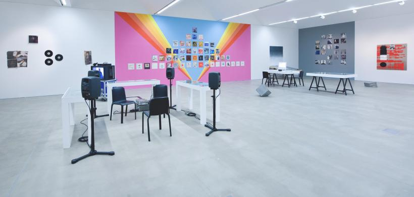 The Curves of the Needle, installation view, Group exhibition, BALTIC's project space at BALTIC 39