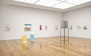 Installation view, 'Isa Genzken: Geldbilder', Hauser & Wirth London, 2015