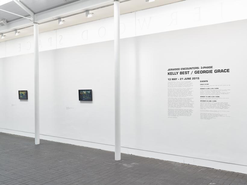 Jerwood Encounters: 3-Phase, 2015. Installation view, Jerwood Space, London