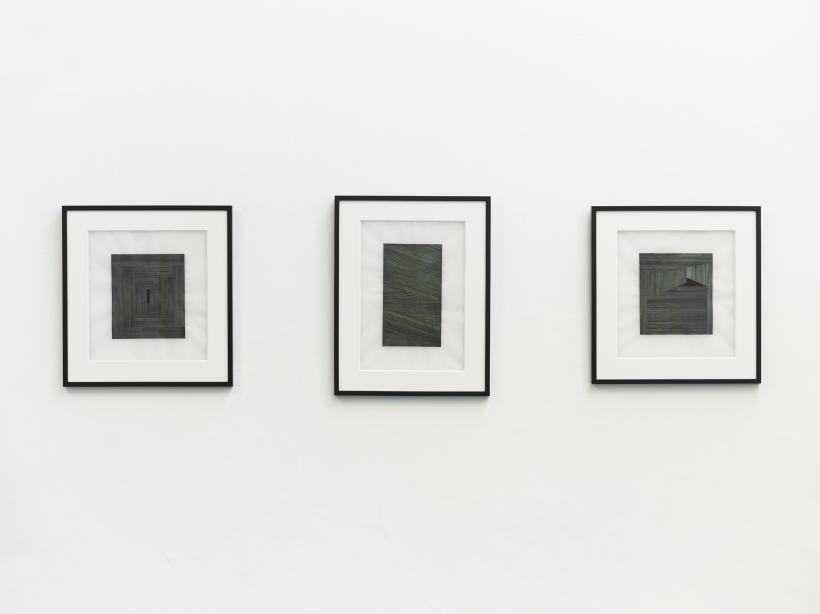 Kelly Best, (from left) Block #2,7,10, Jerwood Encounters: 3-Phase,  2015