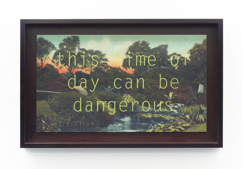 Georgie Grace, this time of day can be dangerous, Jerwood Encounters: 3-Phase, 2015