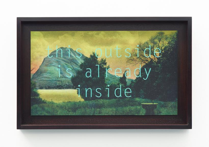 Georgie Grace, this outside is already inside, Jerwood Encounters: 3-Phase, 2015
