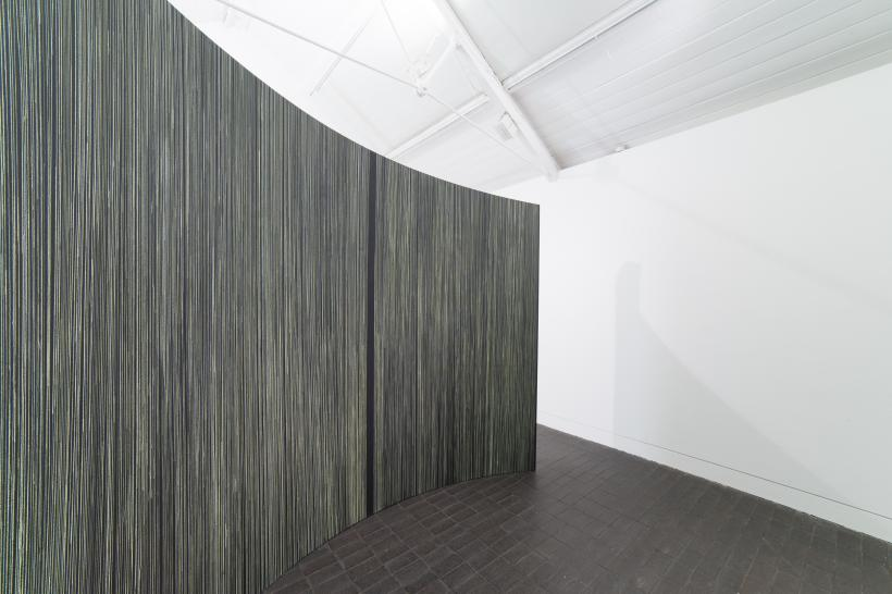 Kelly Best, Velum, Jerwood Encounters: 3-Phase, 2015. Installation view, Jerwood Space, London
