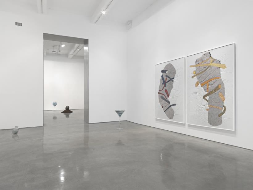Nina Beier, installation view, 2015, Metro Pictures New York