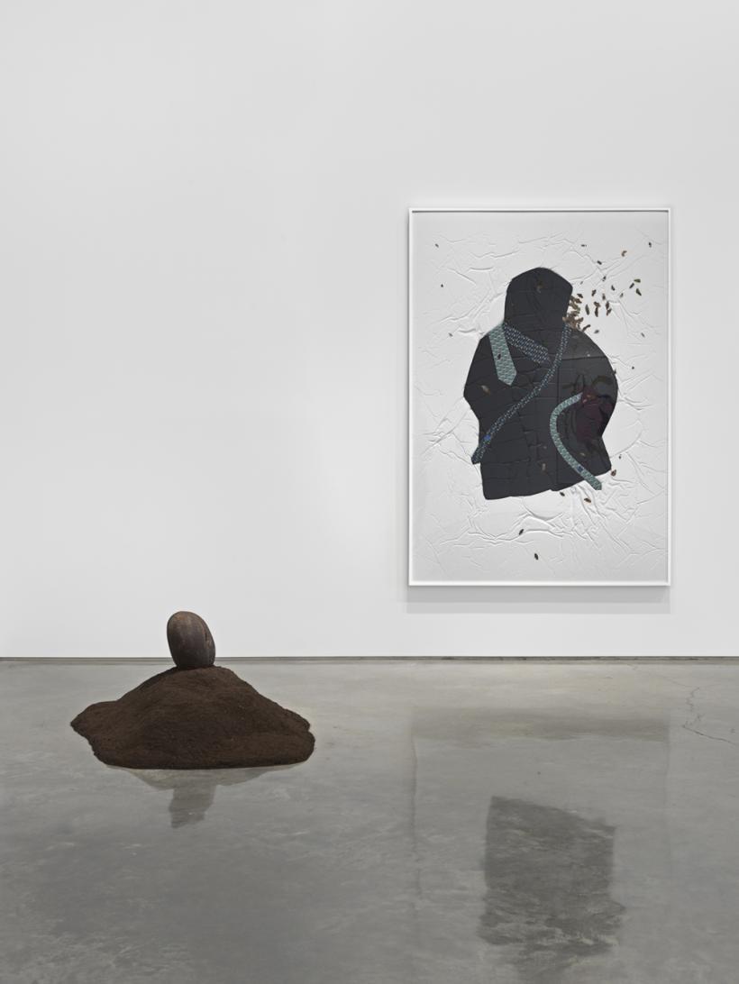 Nina Beier, installation view, 2015, Metro Pictures New York