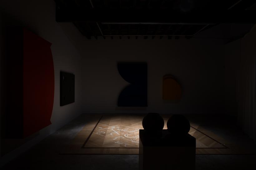 37 Days of Darkness, Installation View