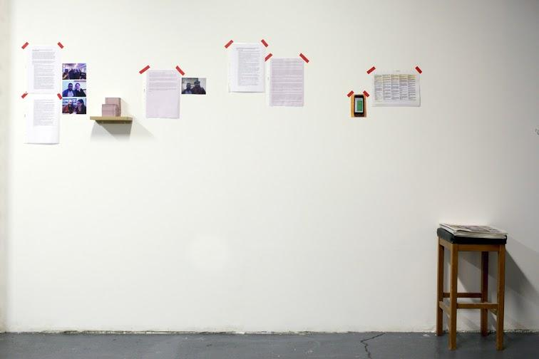 I'll Bring You Flowers: The Story So Far, Installation view at Centrala, Birmingham