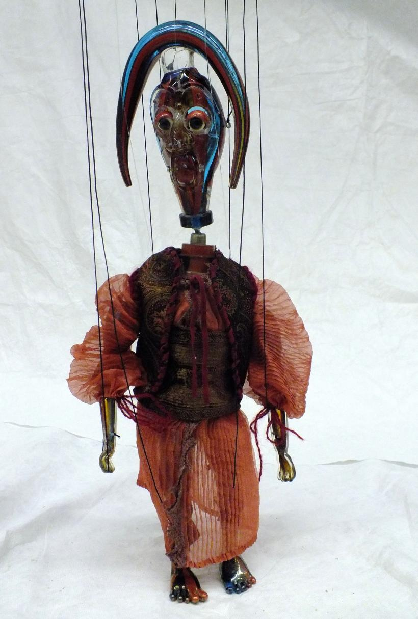 Wael Shawky, Marionette from Cabaret Crusades: The Secrets of Karbalaa, 2014