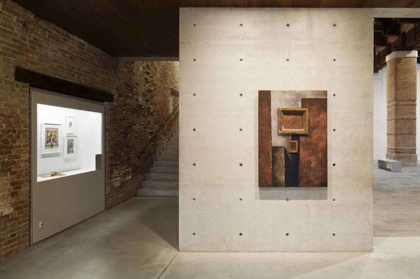 Martin Wong, Untitled (with brick in brick), 1988