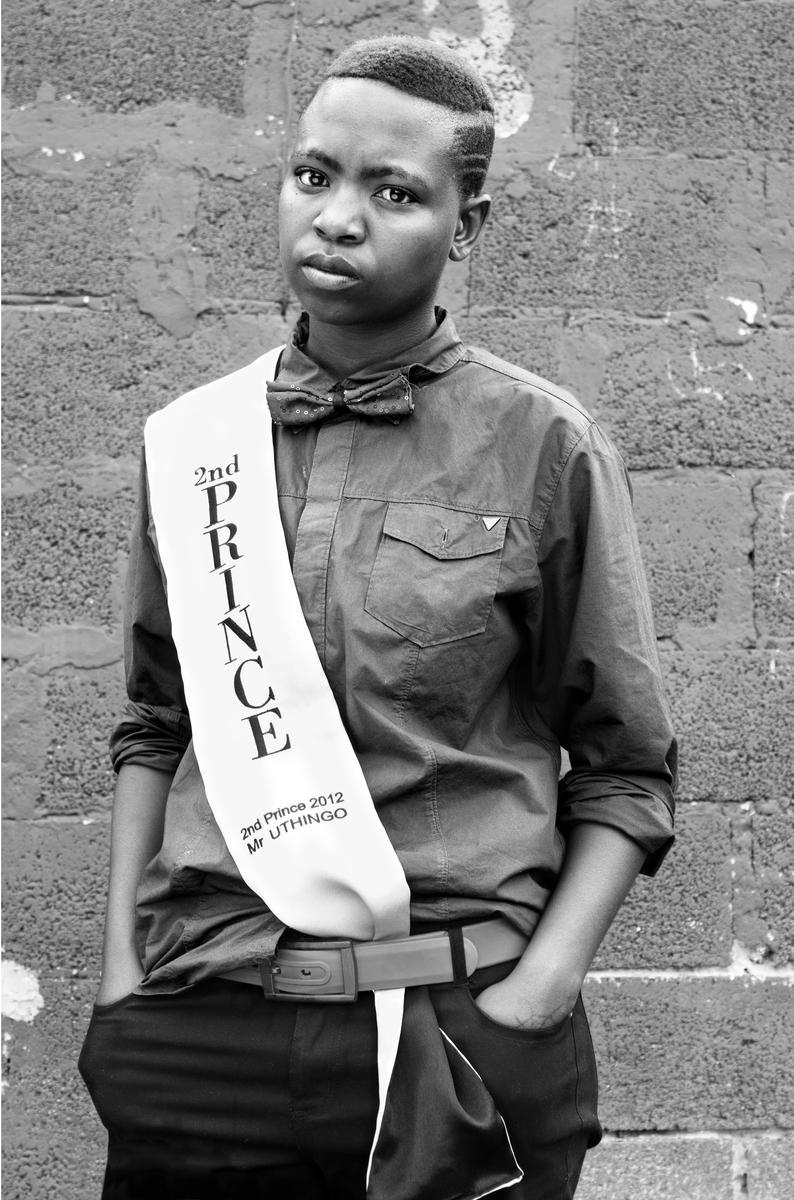 Zanele Muholi, Collen Mfazwe, August House, Johannesburg, 2012, 2012. Gelatin silver photograph, 34 x 24 in. (86.5 x 60.5 cm).