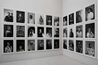 Zanele Muholi (South African, born 1972). Faces and Phases installed at dOCUMENTA (13), Kassel, Germany, 2012