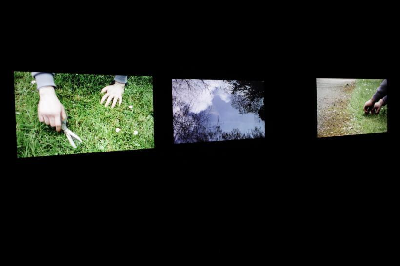 Twelve, Triptych, installation view at Peckham Platform
