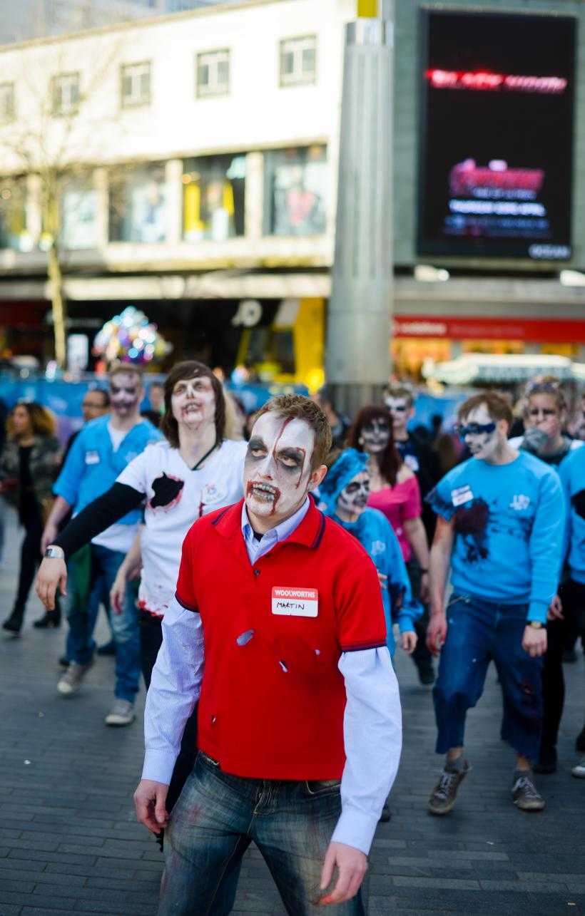 High Street Casualties, Zombie Walk