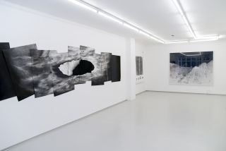 dark frame / deep field, installation view, Breese Little