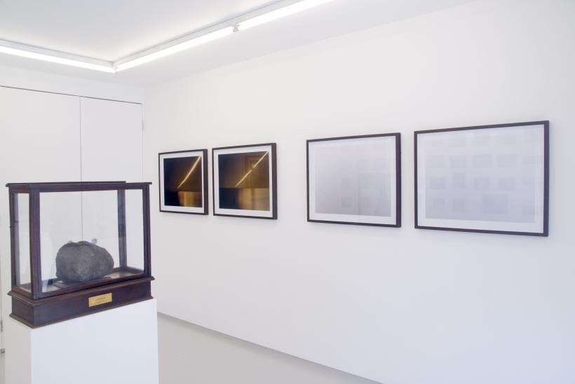 dark frame / deep field, installation view, Breese Little