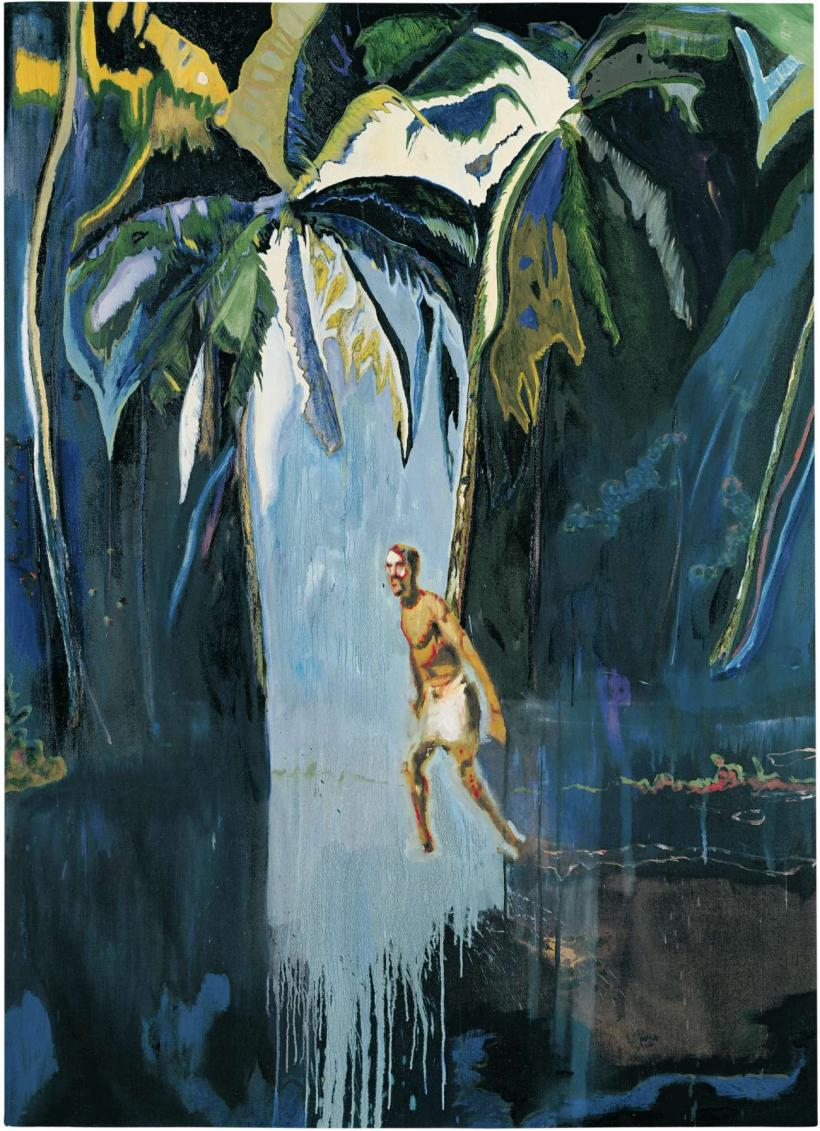Peter Doig, Pelican (Stag), 2003, Oil on canvas, 276 x 200.5 cm