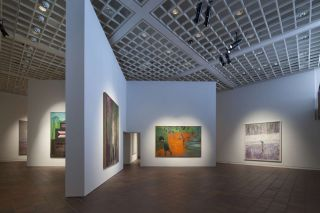 Peter Doig, Installation view at Louisiana Museum of Modern Art, 2015