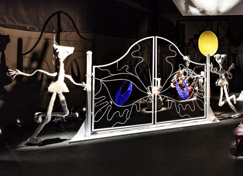 Ida Ekblad KONSTELLASJONER 2015 Scenography Nationaltheatret, Oslo