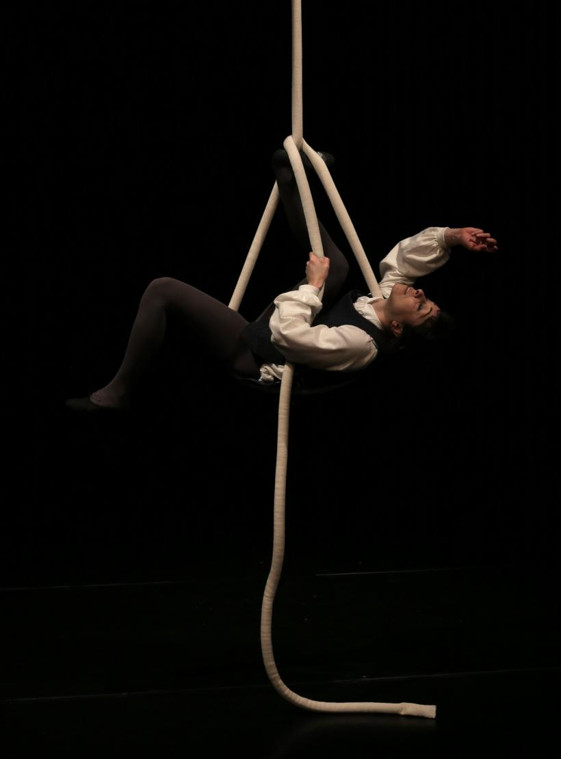 Corin Sworn. Silent Sticks, 2015. Max Mara Art Prize for Women, production still