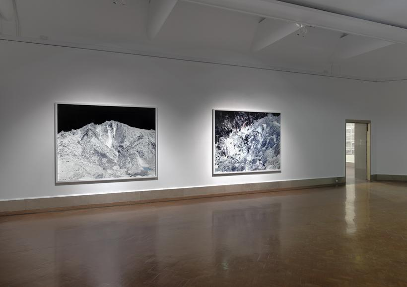 Dan Holdsworth, Blackout installation view, Spatial Objects, Southampton City Art Gallery, 2015