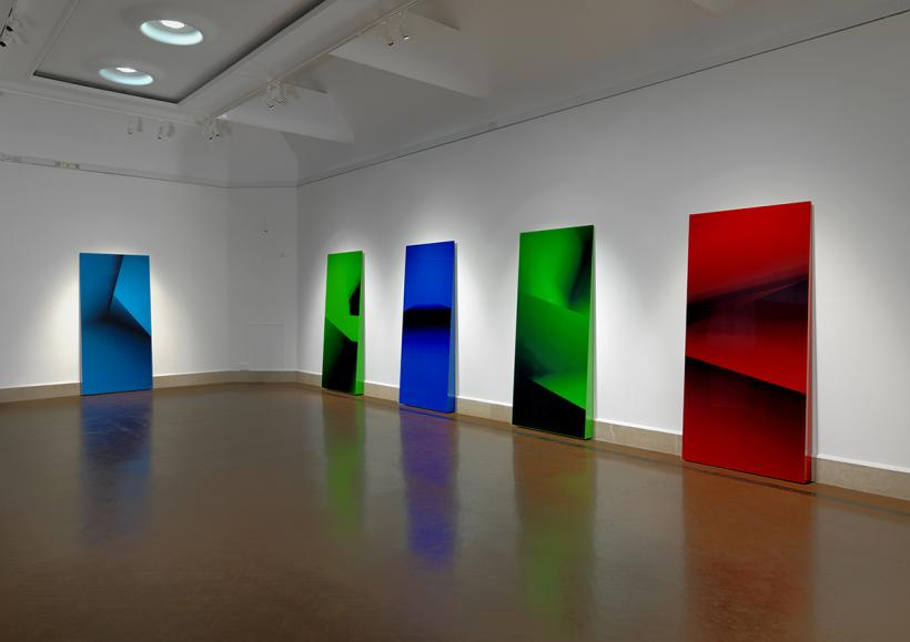 Dan Holdsworth, Spatial Objects installation view, Southampton City Art Gallery, 2015