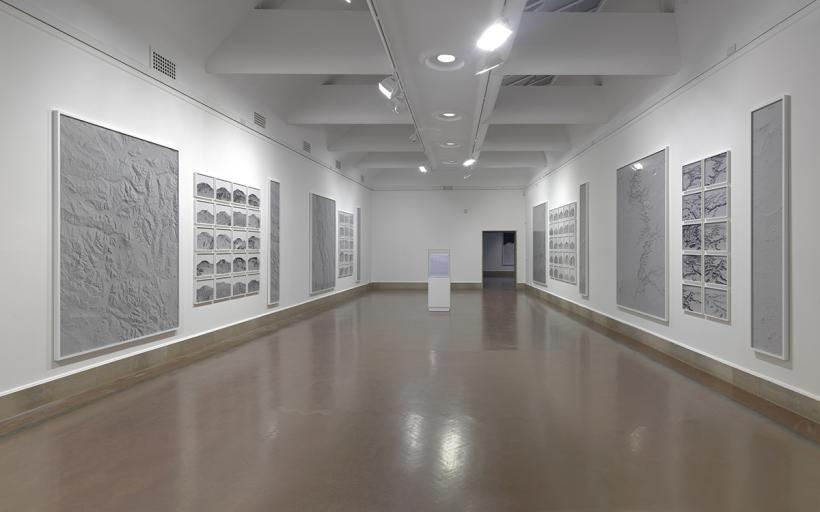 Dan Holdsworth, Transmission, Installation view, Spatial Objects, Southampton City Art Gallery, 2015