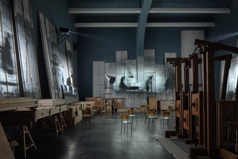 Notes Towards a Model Opera, Installation View at UCCA