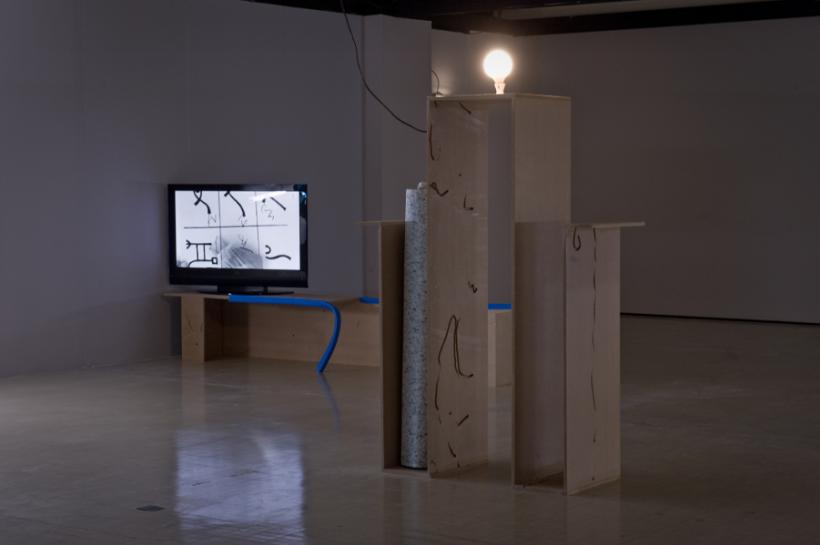 Beatriz Olabarrieta, Plot Bunny, installation view at Northern Gallery for Contemporary Art, 2015