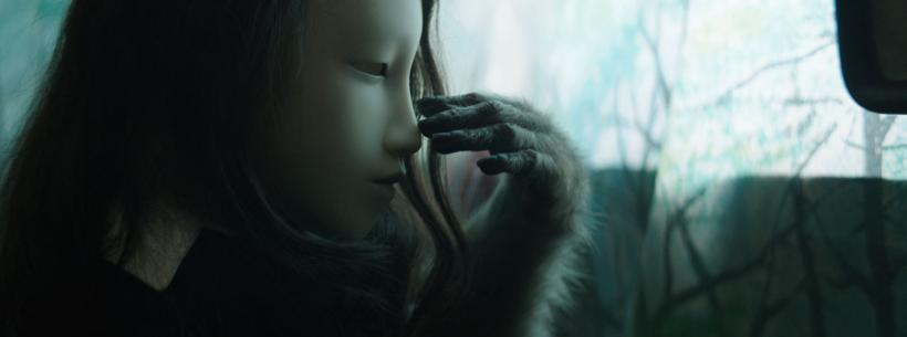 Pierre Huyghe, Film still from Untitled (Human Mask), 2014