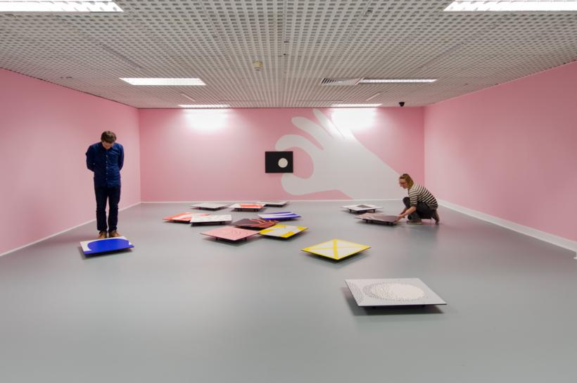 Cornelia Baltes, Turner, Installation view at Northern Gallery for Contemporary Art, 2015