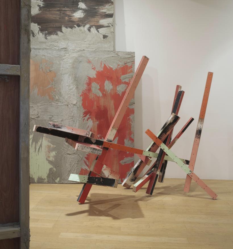 Phyllida Barlow, untitled: caro, 2015, Installation view: set, The Fruitmarket Gallery, Edinburgh, 2015