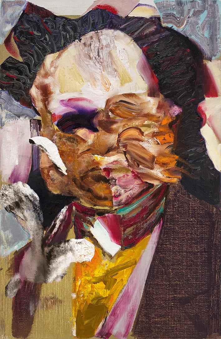Adrian Ghenie, Charles Darwin as a Young Man, 2014