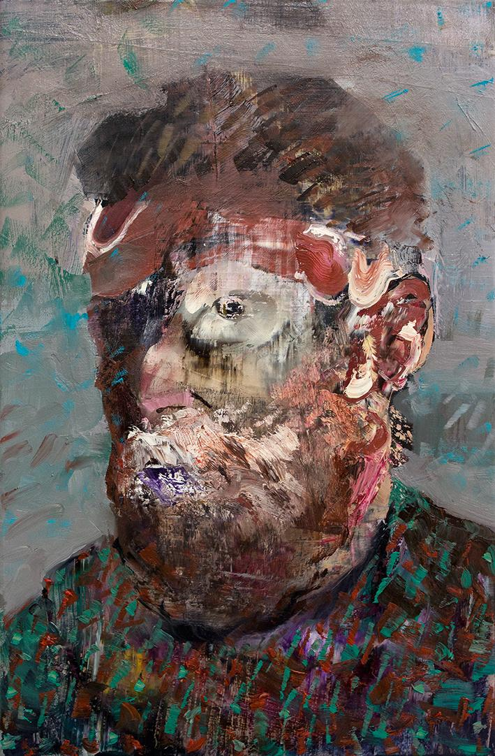 Adrian Ghenie, Self Portrait as Vincent Van Gogh, 2012