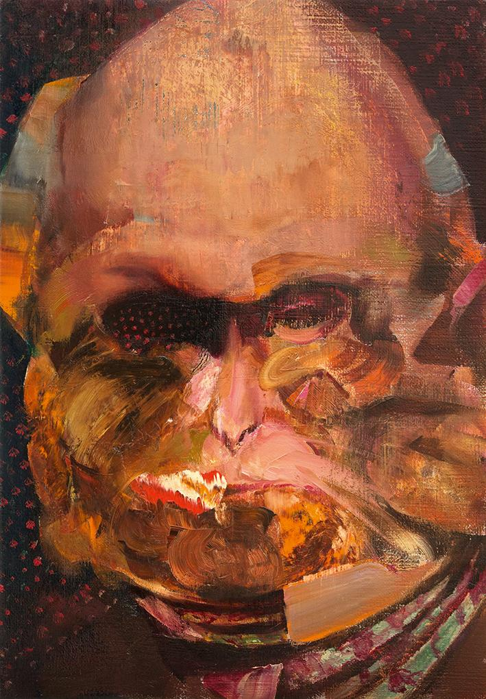 Adrian Ghenie, Charles Darwin at the Age of 40, 2014