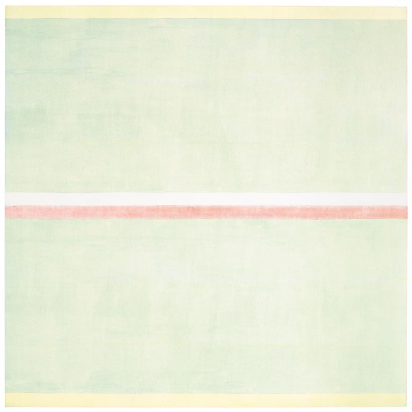 Agnes Martin (1912-2004), Gratitude 2001, Private collection