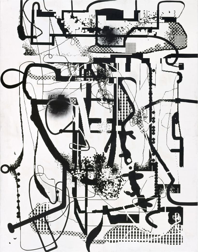 Albert Oehlen, Untitled, 1992