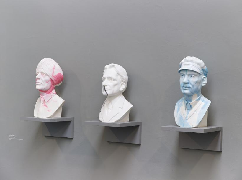 Jasleen Kaur, Marbled Busts, 2015