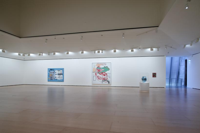 Jean-Michel Basquiat, Now's the Time, Installation view at the Guggenheim Museum Bilbao