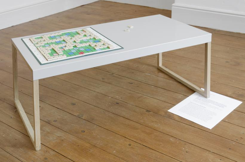 Harry Meadley, Curated Coffee Table, installation view at Tuff Crowd, 2015