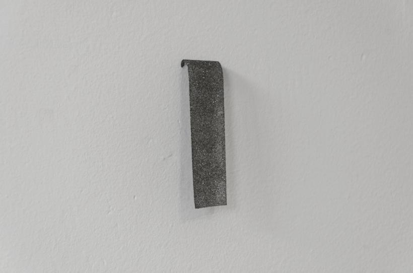 Monty, Spangles on Tape, installation view at Tuff Crowd, 2015